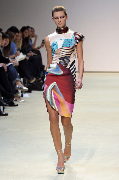 Mary Katrantzou at London Spring 2010