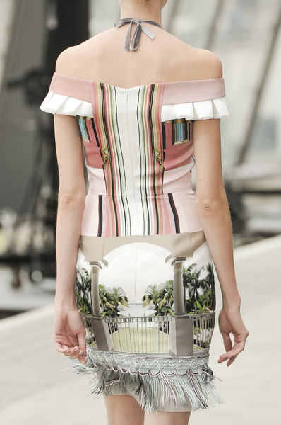 Mary Katrantzou at London Spring 2011 (Details)