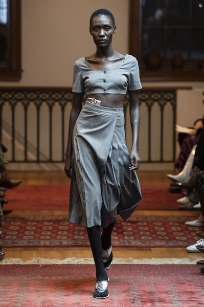 Maryam Nassir Zadeh at New York Fall 2019
