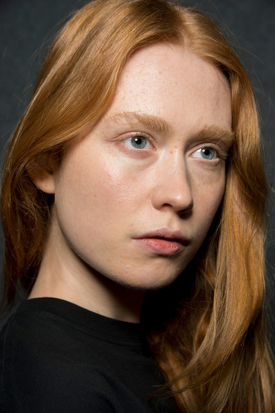 Maryling at Milan Fall 2019 (Backstage) [image,face,hair,eyebrow,hairstyle,blond,chin,cheek,beauty,lip,forehead,artist,actor,hairstyle,head hair,brown hair,hair coloring,beauty,maryling,milan fashion week,anne-laure morin,actor,hairstyle,hair coloring,bangs,artist,head hair,brown hair,image,beauty]