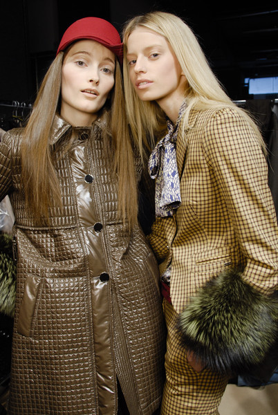 Massimo Rebecchi at Milan Fall 2008 (Backstage)
