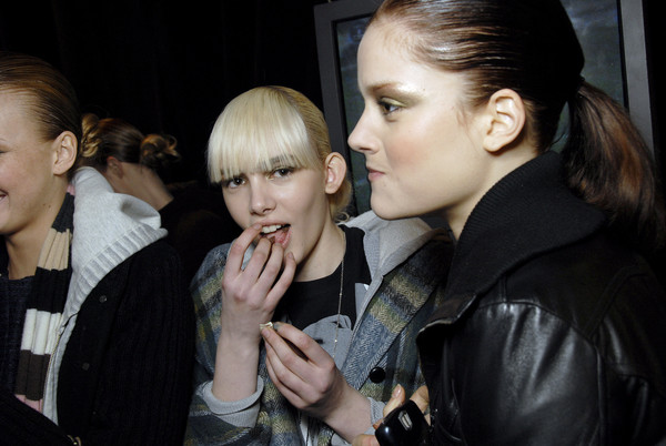 Matthew Williamson at New York Fall 2007 (Backstage)