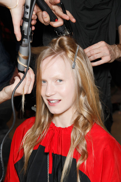 Matthew Williamson at London Fall 2011 (Backstage)