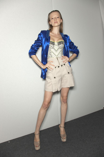 Matthew Williamson at London Spring 2011 (Backstage)