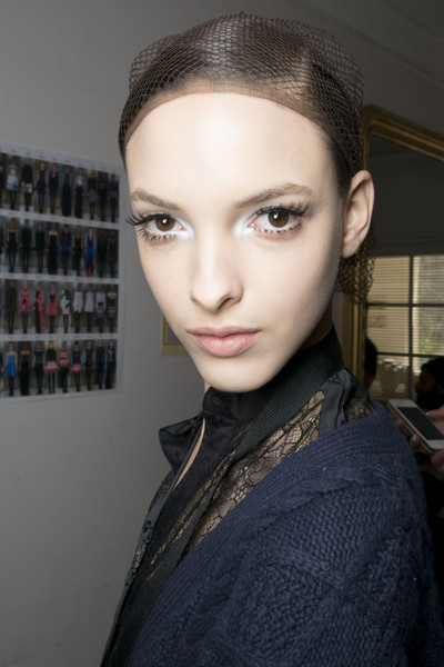 Maxime Simoens at Paris Fall 2013 (Backstage)