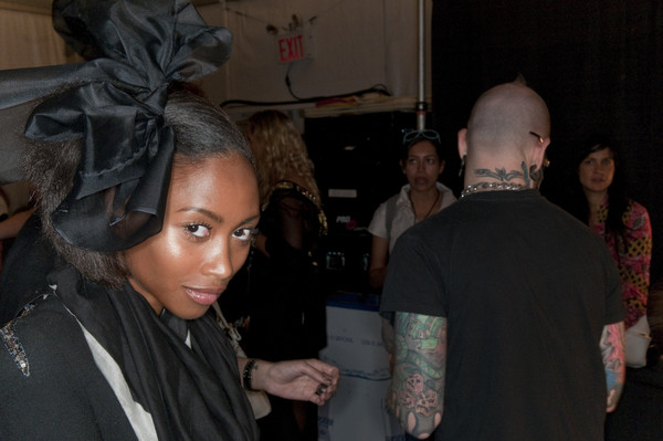 Milly at New York Spring 2010 (Backstage)