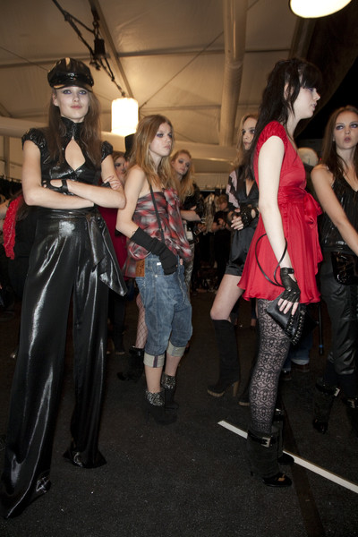 Miss Sixty at New York Fall 2009 (Backstage)