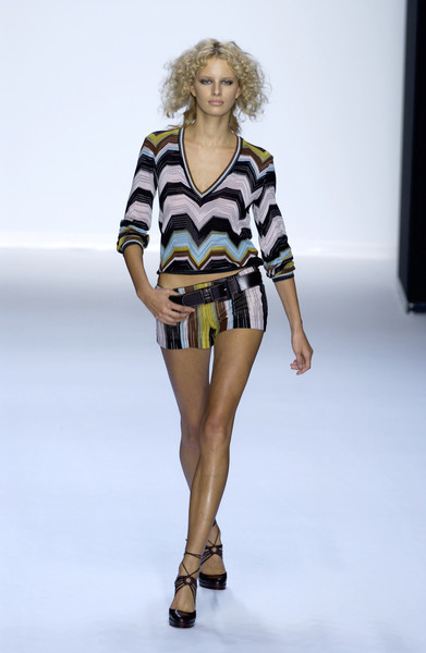Missoni at Milan Spring 2002