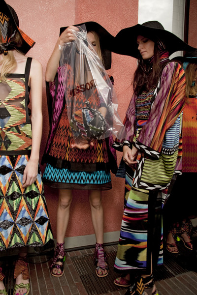Missoni at Milan Spring 2011 (Backstage)