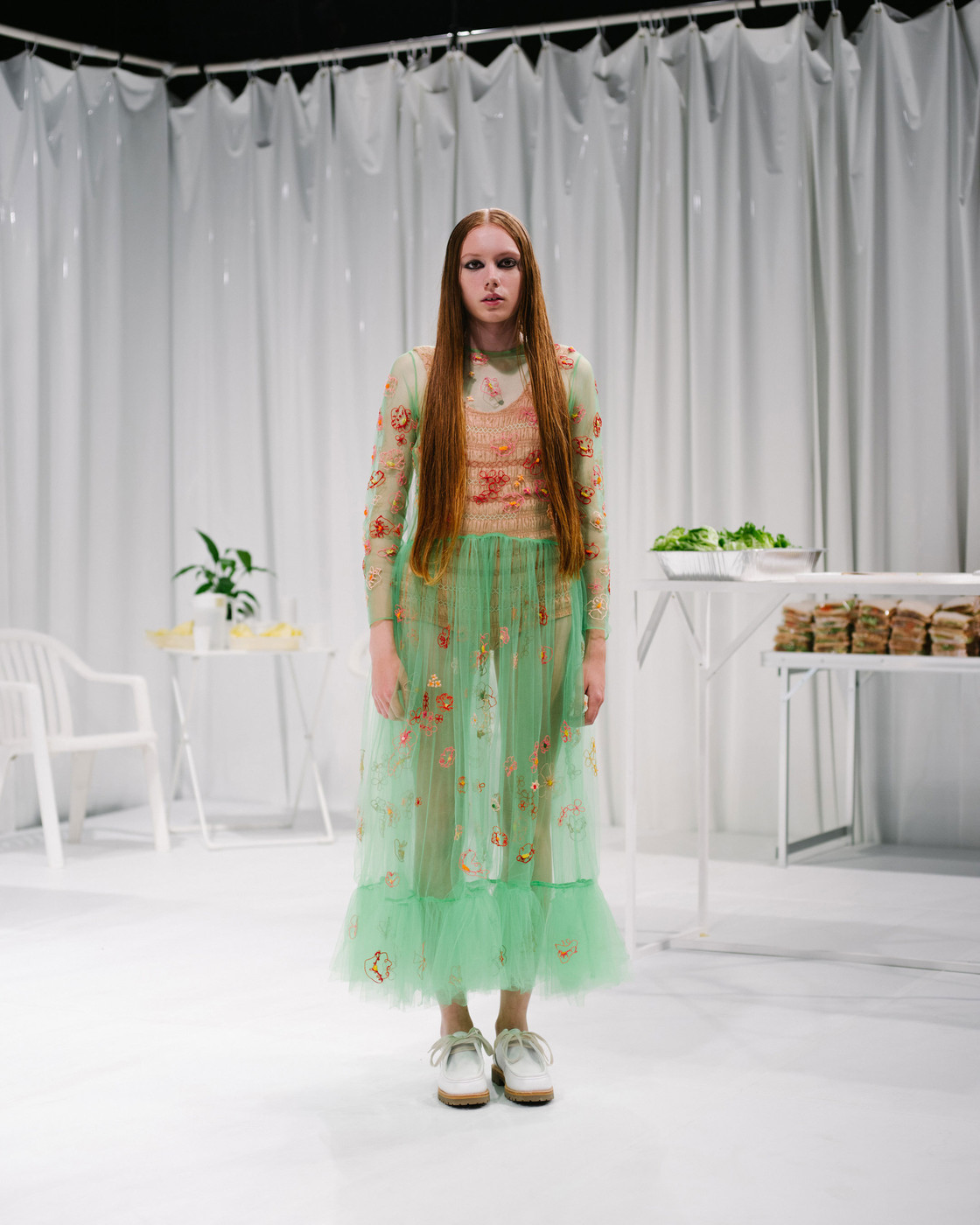 Molly Goddard At London Fashion Week Spring 2016 Livingly