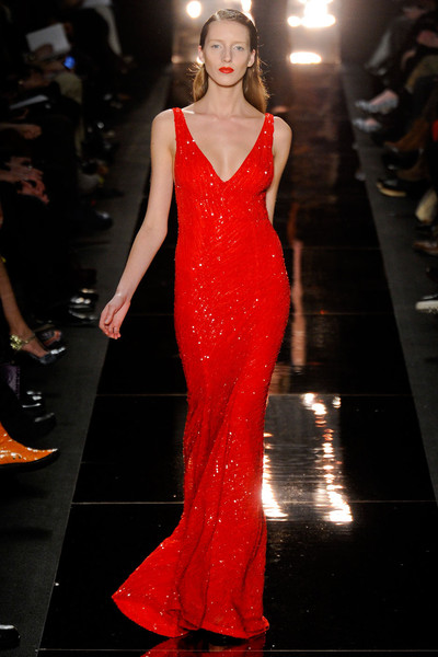 Monique Lhuillier at New York Fall 2012