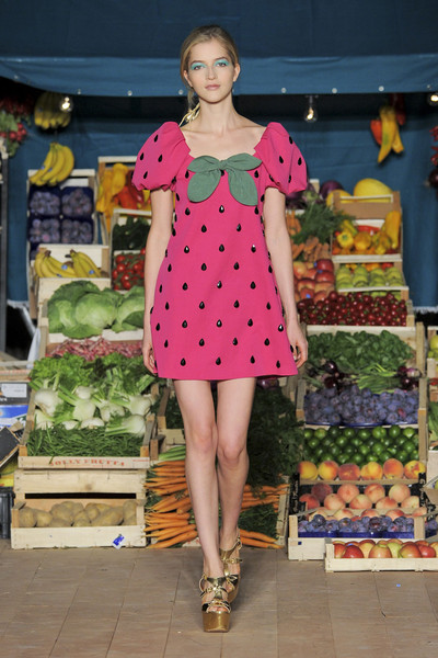 Moschino Cheap & Chic at Milan Spring 2012