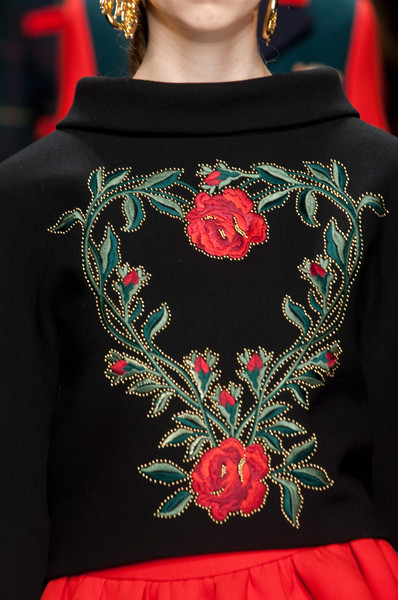 Moschino at Milan Fall 2013 (Details)