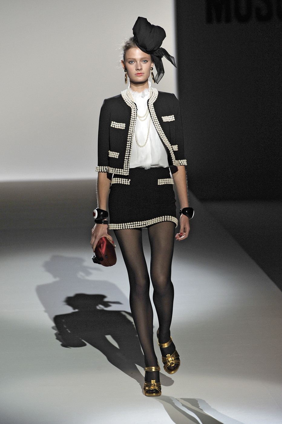 Moschino at Milan Fashion Week Spring 2010