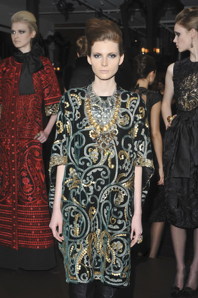 Naeem Khan at New York Fall 2009