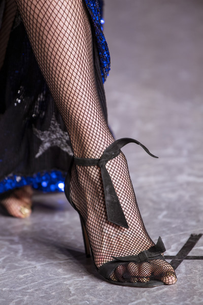 Naeem Khan at New York Fall 2020 (Details) [leg,footwear,human leg,fashion,high heels,thigh,joint,shoe,stocking,ankle,shoe,shoe,naeem khan,calf,stocking,foot,leg,tights,high heels,new york fashion week,shoe,calf,stocking,tights,high-heeled shoe,sandal,foot,net]