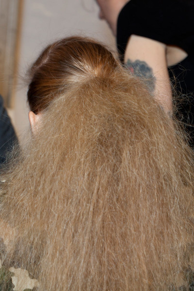 Nanette Lepore at New York Fall 2012 (Backstage)