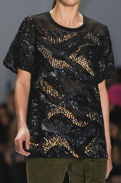 Nanette Lepore at New York Fall 2013 (Details)