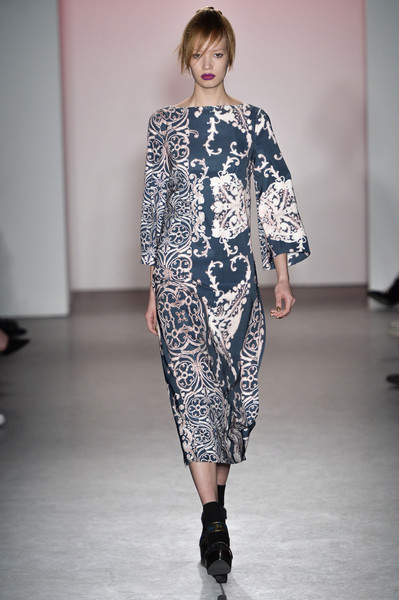 Nanette Lepore at New York Fall 2015
