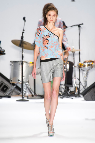 Nanette Lepore at New York Spring 2013