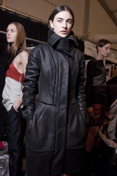 Narciso Rodriguez at New York Fall 2010 (Backstage)