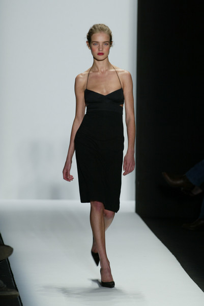 Narciso Rodriguez at New York Spring 2003 [fashion show,fashion model,fashion,runway,clothing,dress,shoulder,cocktail dress,haute couture,fashion design,dress,dress,narciso rodriguez,supermodel,natalia vodianova,fashion,runway,model,new york fashion week,fashion show,natalia vodianova,new york fashion week,fashion show,runway,model,narciso rodriguez,supermodel,fashion,little black dress,ready-to-wear]