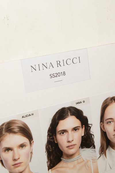 Nina Ricci at Paris Spring 2018 (Backstage)