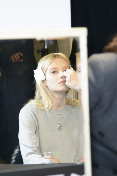 No. 21 at Milan Fall 2014 (Backstage)