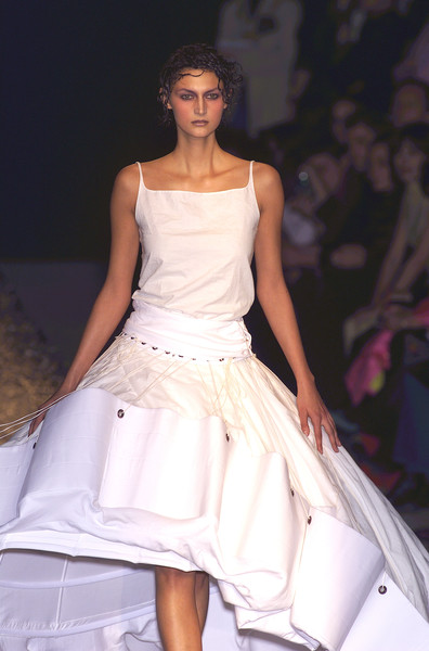 Olivier Theyskens at Paris Spring 2001