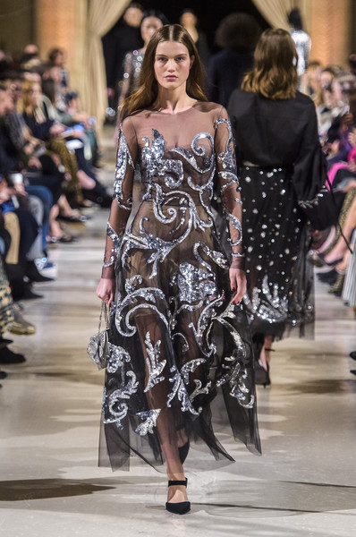 Oscar de la Renta at New York Fashion Week Fall 2018