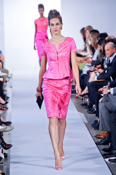 Oscar de la Renta at New York Spring 2013