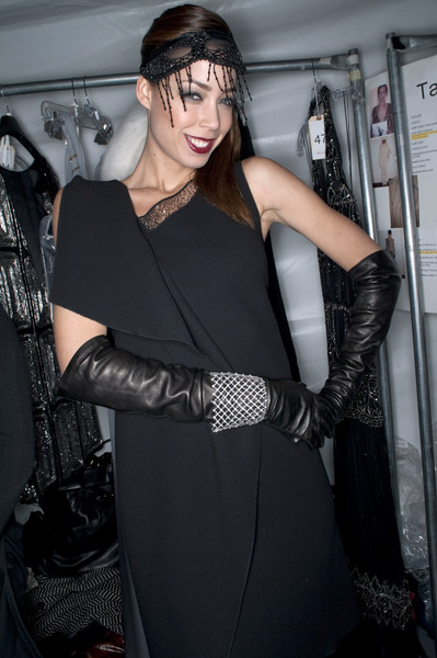 Pamella Roland at New York Fall 2010 (Backstage)