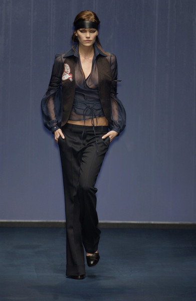 Paola Frani at Milan Fall 2002