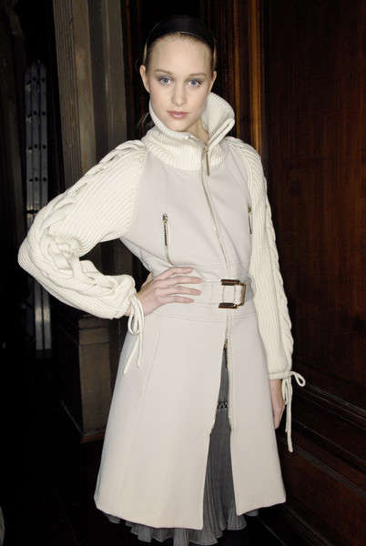 Paola Frani at Milan Fall 2007 (Backstage)
