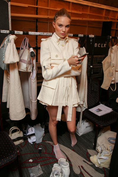 Paul Costelloe at London Spring 2017 (Backstage)