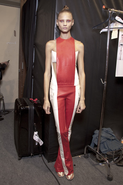 Pedro Lourenço at Paris Spring 2011 (Backstage)