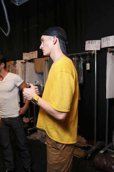 Perry Ellis at New York Spring 2012 (Backstage)