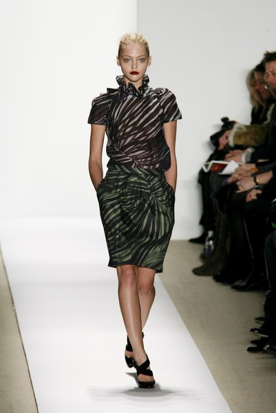Peter Som at New York Fall 2007