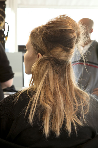 Peter Som at New York Fall 2011 (Backstage)