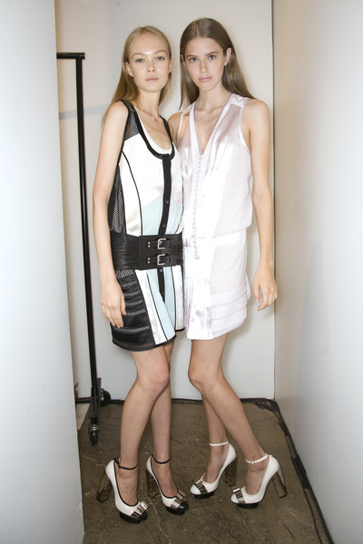 Phi at New York Spring 2009 (Backstage)