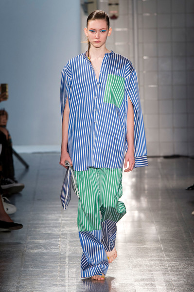 Ports 1961 at Milan Spring 2017 [fashion show,fashion model,fashion,runway,clothing,blue,turquoise,fashion design,pajamas,event,fashion,runway,fashion week,model,color,clothing,turquoise,ports 1961,milan fashion week,fashion show,milan fashion week,runway,fashion show,fashion,fashion week,color,ports 1961,model,summer,2017]