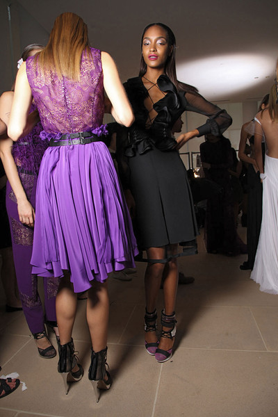 Prabal Gurung at New York Spring 2012 (Backstage)