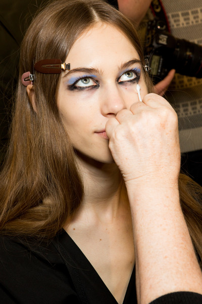 Prada at Milan Fall 2017 (Backstage)
