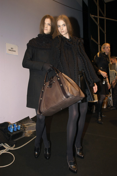 Pringle of Scotland at Milan Fall 2007 (Backstage)