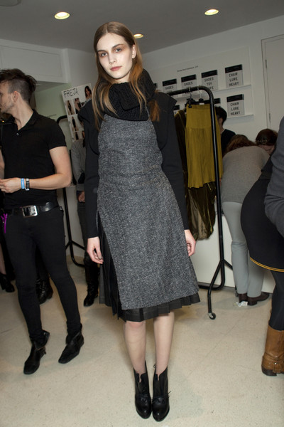 Pringle of Scotland at London Fall 2010 (Backstage)