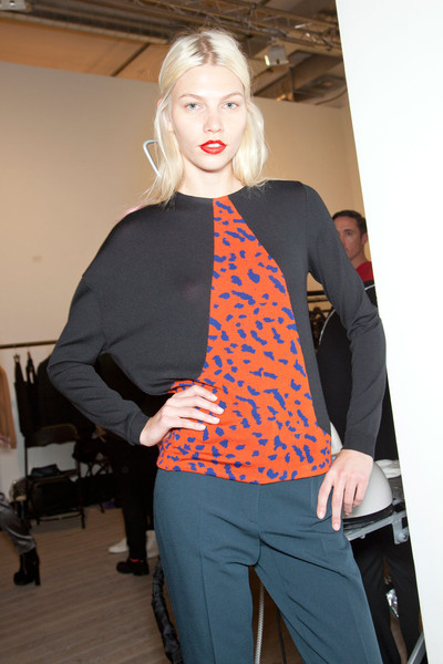Pringle of Scotland at London Fall 2012 (Backstage)