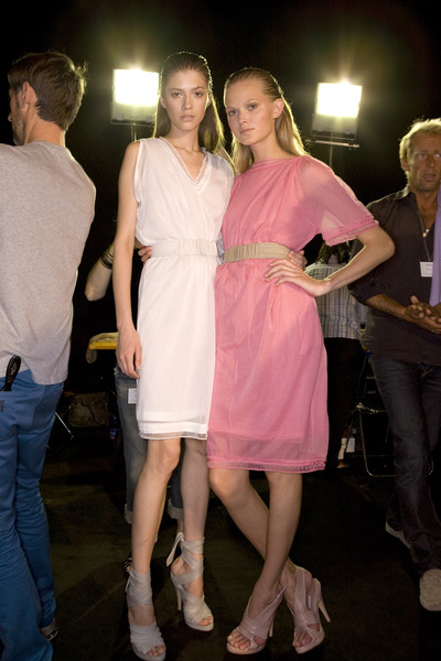 Pringle of Scotland at Milan Spring 2009 (Backstage)