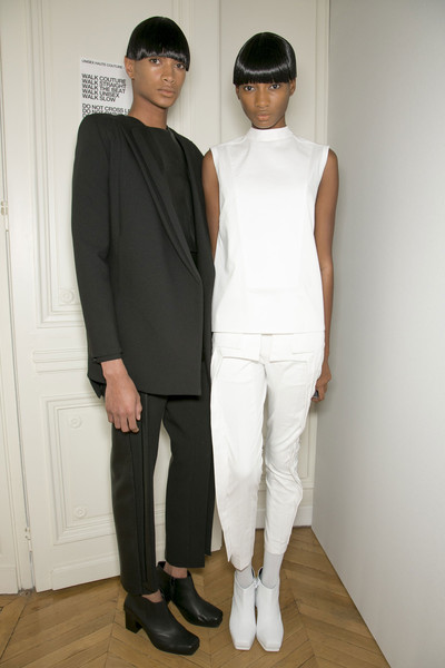 RAD by Rad Hourani at Couture Spring 2013 (Backstage)