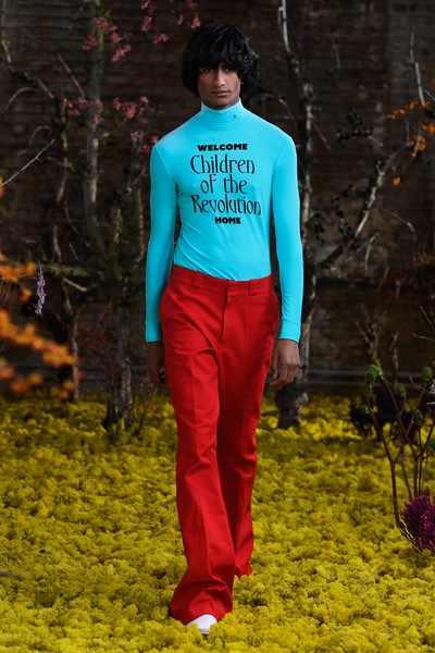 Raf Simons at Paris Spring 2021 [green,clothing,red,blue,turquoise,electric blue,fashion,maroon,human,outerwear,jeans,bikini top,raf simons,red,fashion,electric blue m,cobalt blue,blue,blue,paris fashion week,electric blue m,red,fashion,jeans,cobalt blue,dos gardenias stein square neck bralette bikini top,tree,blue,spring framework]