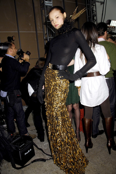 Ralph Lauren at New York Fall 2008 (Backstage)